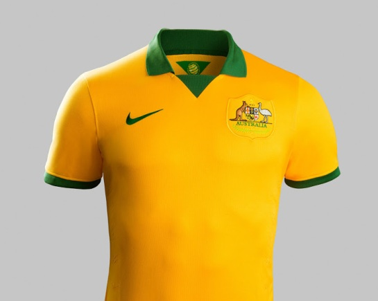 Australia 2014 World Cup Home Kit (2)