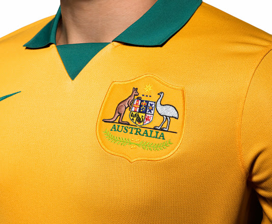 Australia 2014 World Cup Home Kit (3)