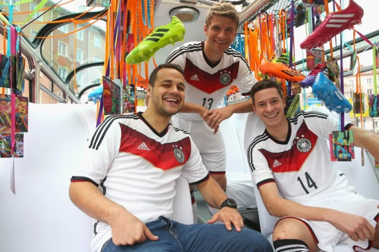 Germany 2014 World Cup Home Kit 2
