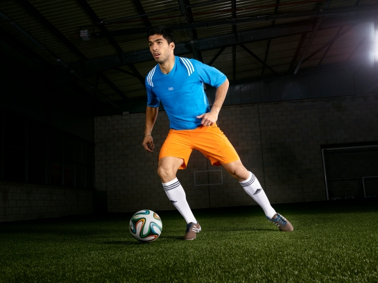 Luis Suarez action 3