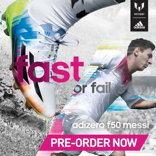 Get the new F50 Messi