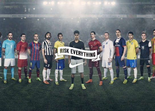 nike risk everything nike rooney ronaldo neymar creative campaign 12th man 12elfth man 1