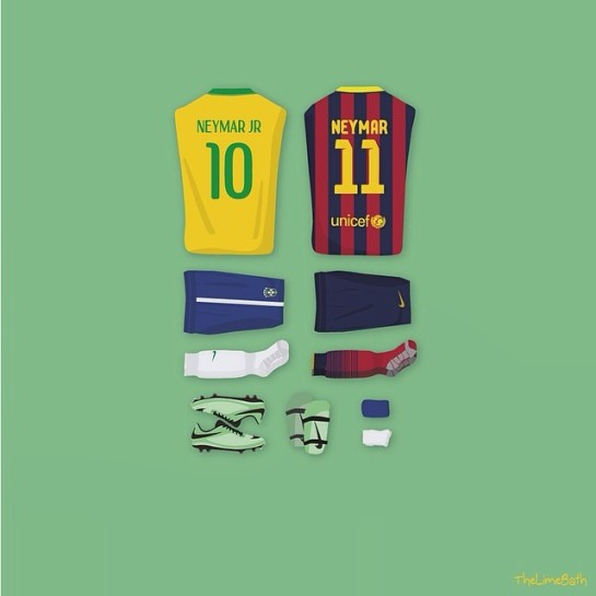 The lime bath 12elfthman 12thman brazil barcelona neymar