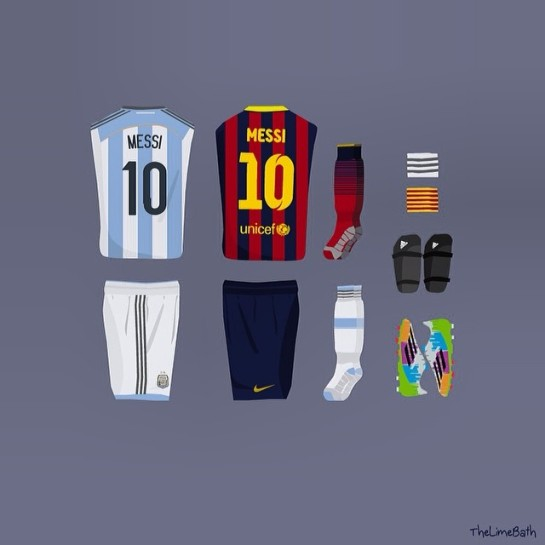 The lime bath 12elfthman 12thman messi argentina barcelona