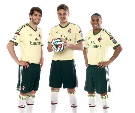 ac milan 201415 kit adidas 12elfthman 12thman 3rd kit