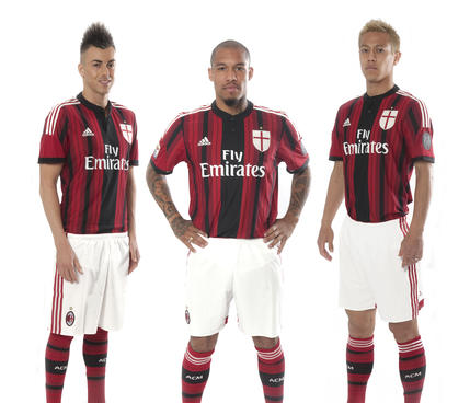 ac milan 201415 kit adidas 12elfthman 12thman players