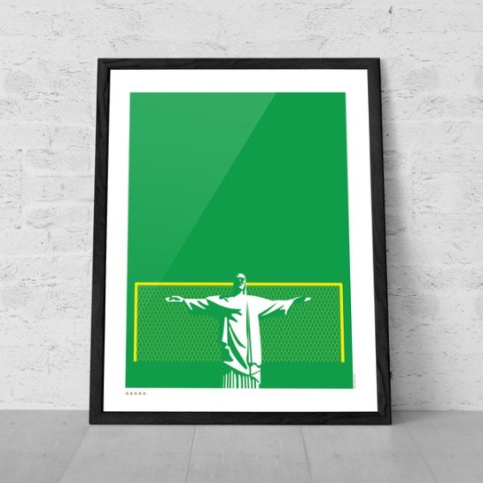art of sport 12elfth man football poster design brazil