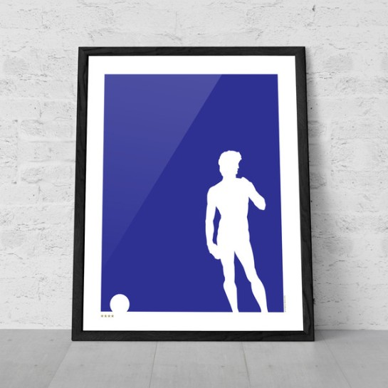 art of sport 12elfth man football poster design italy