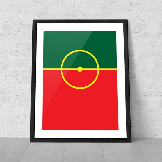 art of sport 12elfth man football poster design portugal