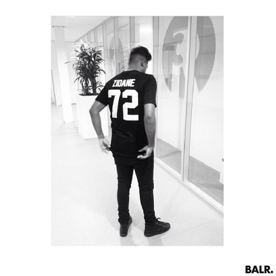 BALR presentation creative football lifestyle zidane 4 12elfth man