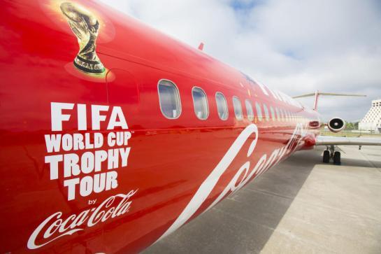 coca cola world cup trophy tour 12elfth man 12th man 2