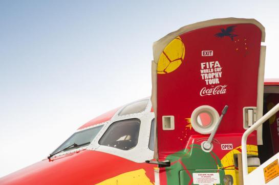 coca cola world cup trophy tour 12elfth man 12th man 3