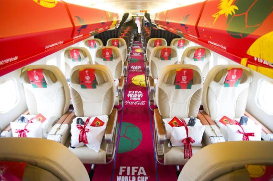 coca cola world cup trophy tour 12elfth man 12th man 4