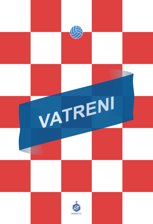 croatia captain world cup poster design 12elfth man