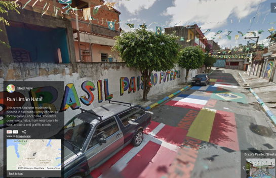 Google - Brazil Painted Streets 2