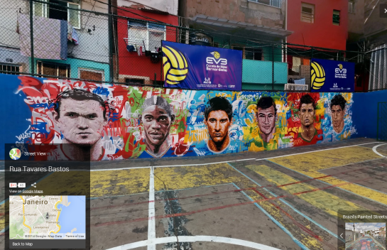 Google - Brazil Painted Streets 3