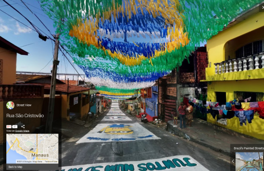 Google - Brazil Painted Streets 4