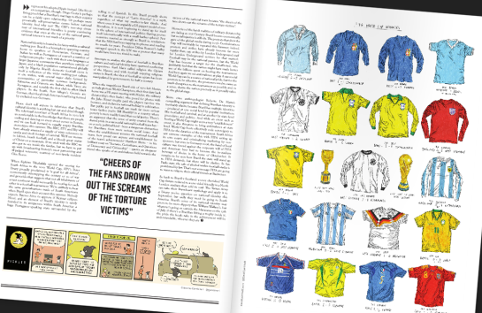 pickles world cup special issue nine 12elfth man design football 3