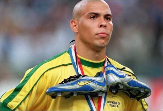 Shawn Hoy Favourite Boots Mercurial 98 Ronaldo