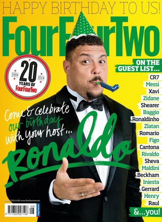 442 four four two magazine cover ronaldo