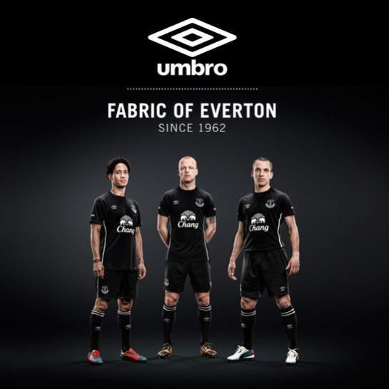 everton umbro away kit black 2014 15 12th man 2