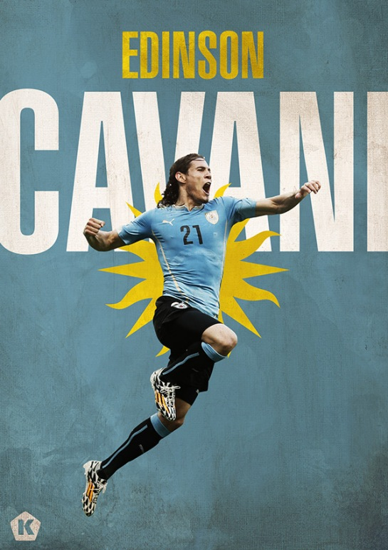 luke barclay world cup posters kick tv cavani