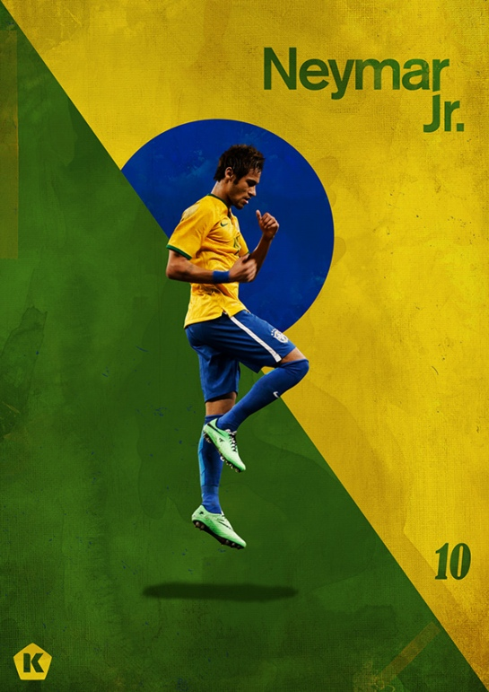 luke barclay world cup posters kick tv neymar