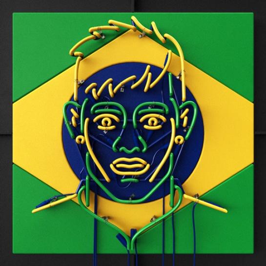 neon signs neymar