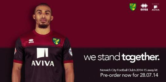 Norwich Away 2014
