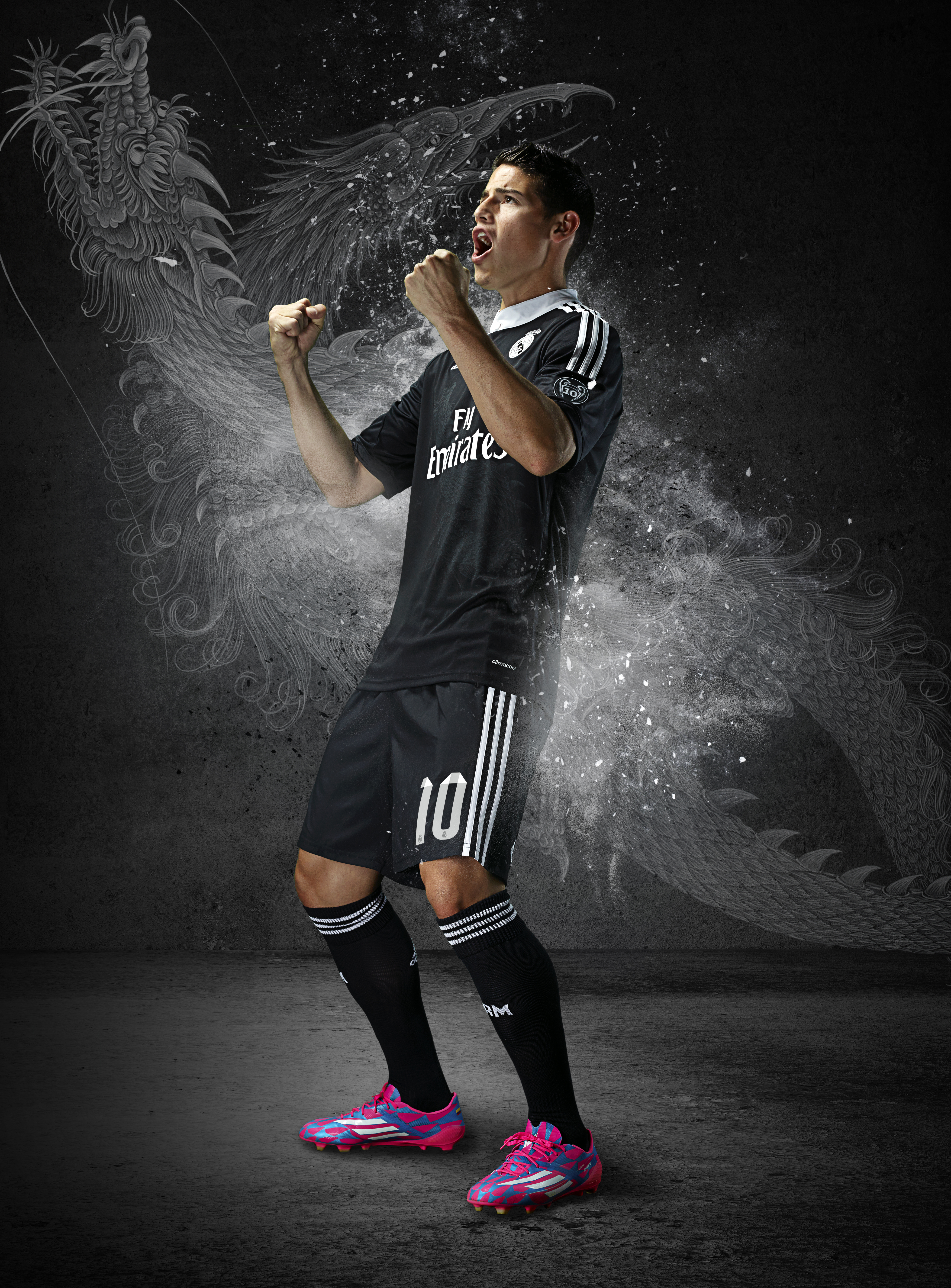75fcf73fc9a ... Yohji Yamamoto Designs the New adidas Real Madrid Third Kits  JAMESDRAGON. The striking new kit has been designed by Japanese design  revolutionary and ...