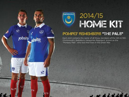 portsmouth fc the pals new football kit 12elfth man