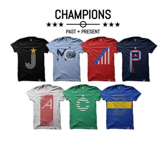 champions collection_white blank
