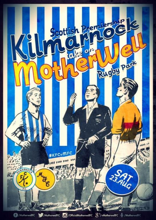 motherwell match design posters 12elfth man graphic 10