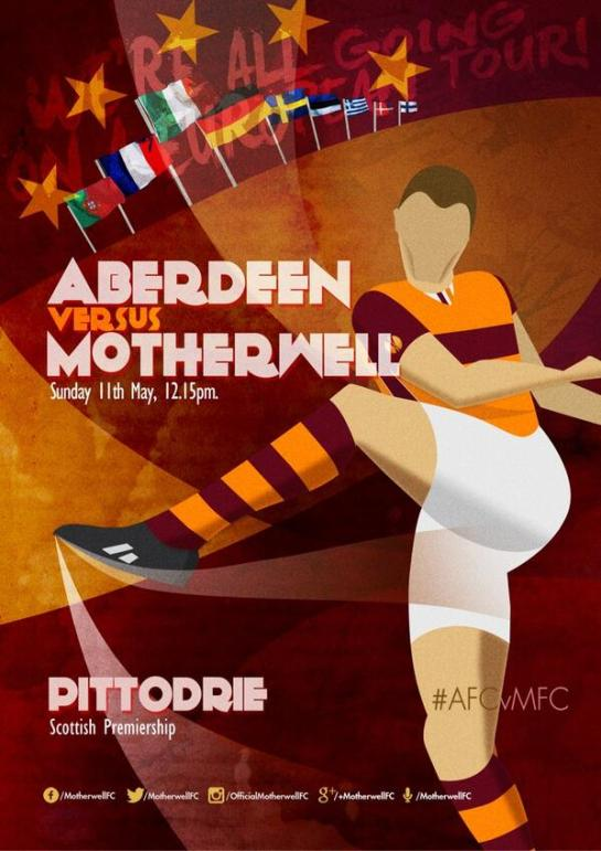 motherwell match design posters 12elfth man graphic 3