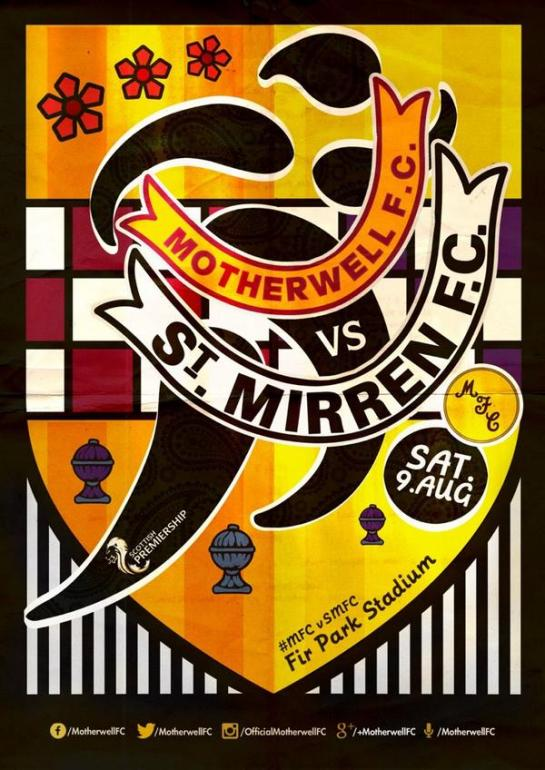 motherwell match design posters 12elfth man graphic 7