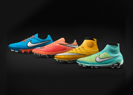 nike launches new boots bright colours 1