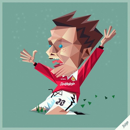 robin gundersen illustration football