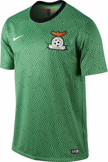 Zambia 2014 Home Kit nike