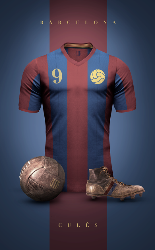 Emilio Sansolini vintage re-imagined 12elfth man football design 2
