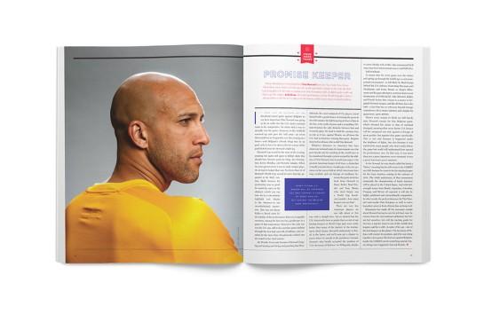 Howler magazine design football 3