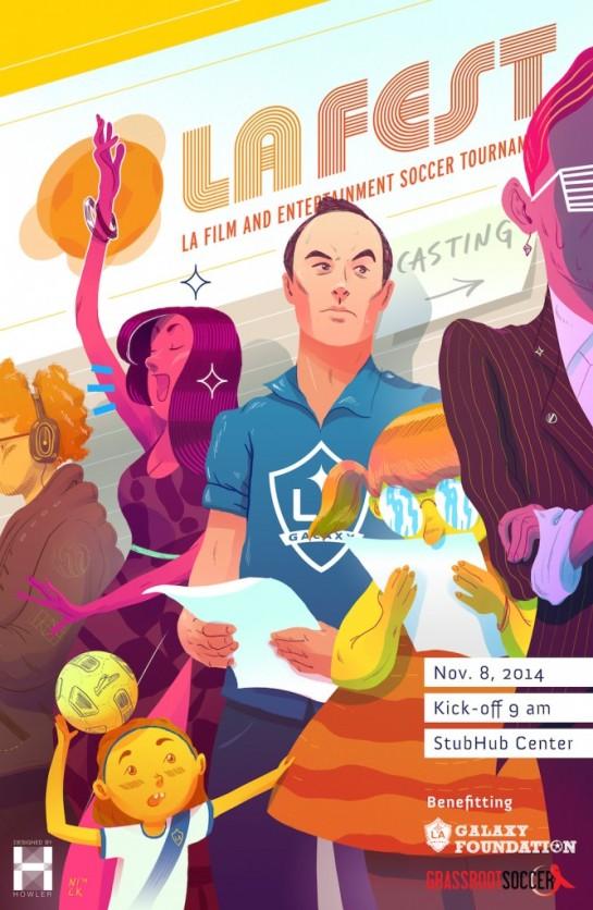 la fest design poster howler 12elfth man