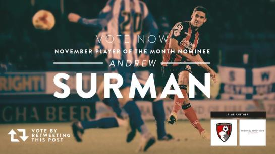 bournemouth player of the month 1