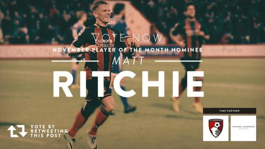 bournemouth player of the month 3