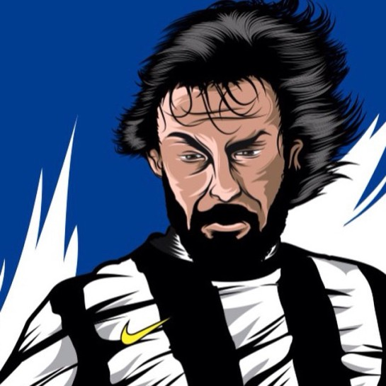 pirlo illustration - nike