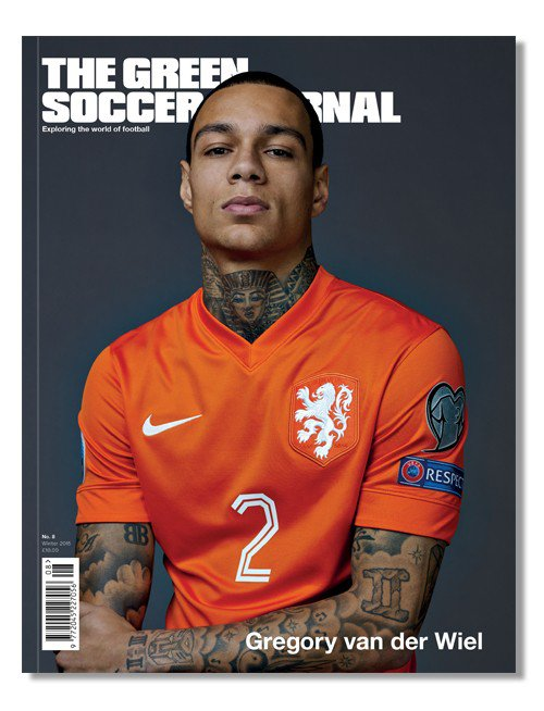 green soccer journal issue 8 cover