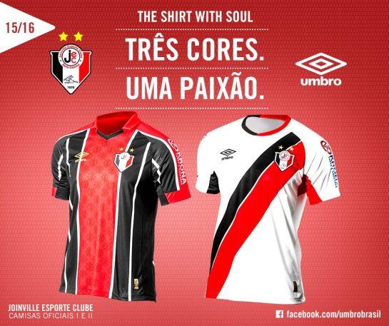 Joinville Esporte Clube umbro kit 3