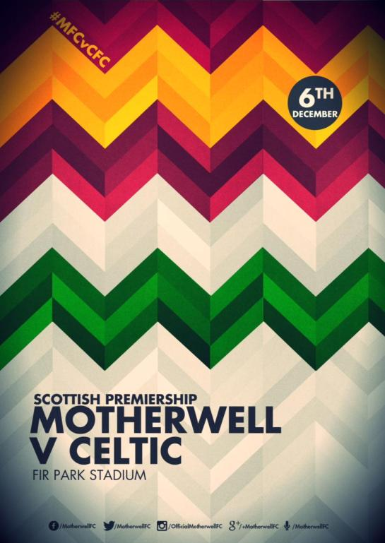 motherwell matchday poster 2