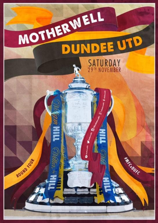 motherwell matchday poster 3