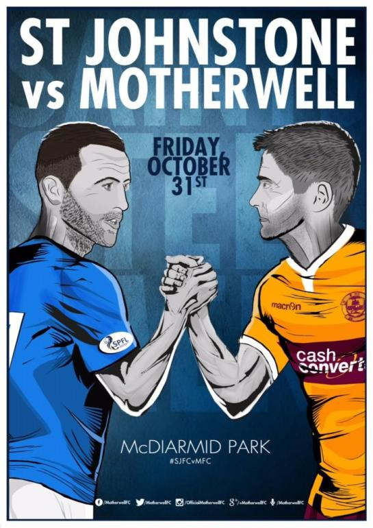 motherwell matchday poster 5