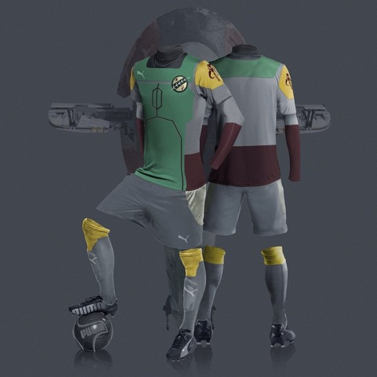 Star Wars Kits Football Design 3